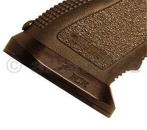 rozšířené ústí zásobníkové šachty DAWSON Glock Small Frame - Black Rozšířené hliníkové ústí zásobníkové šachtypro pistole GLOCK - malé rámy