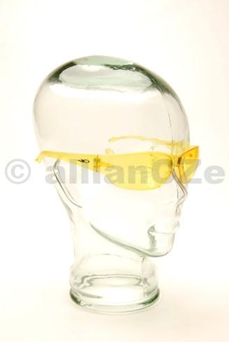 BOMBERS - žluté střelecké brýle
