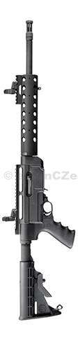 PUŠKA RUGER SR-22 Rifle - SR22 .22LR model: 11134 PUŠKA - malorážka Ruger® SR-22® Rifle .22 LR ITEM: 11134  Puška je s ovládacími a konstrukčními prvky systému AR-15 - má matně černěný povrch