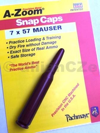 """Cvičný (školní) náboj 7 x 57 MAUSER - A-Zoom (ITEM 12232)  7 x 57 MAUSER A-zoom ITEM 122321ks(www.pachmayr.com)Excelentní kovový cvičný náboj pro""""suchou"""" střelbu"""