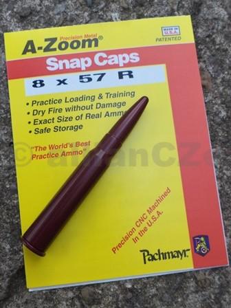 """Cvičný (školní) náboj 8 x 57 R - A-Zoom (ITEM 12265)  8 x 57 R A-zoom ITEM 122651ks(www.pachmayr.com)Excelentní kovový cvičný náboj pro""""suchou"""" střelbu"""