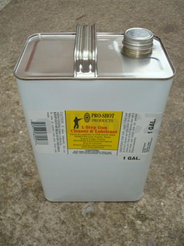 Čistící a mazací olej Pro-Shot Products 1 Step Gun - 1 galon / 3
