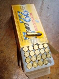 22 L VLV Winchester 29gr Z22L kompletní náboje 22 L VLV 29gr Z22L Winchester - 50ks v balení