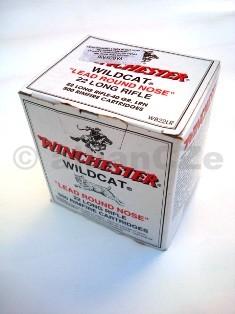 22 LR Winchester-WILDCAT 40gr LRN kompletní náboje 22 LR Winchester® Winchester® WILDCAT® 40 Grain LRN
