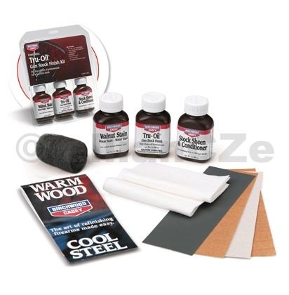 Kompletní souprava pro úpravu dřeva - Complete Tru-Oil® Gun Stock Finish Kit