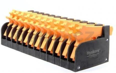 držák krátkých zbraní - HYSKORE 12 GUN PISTOL RACK HYSKORE  Twelve Gun Modular Pistol Rack(HYSKORE 12 Gun Pistol Rack) ITEM: 30212  Pořadač na 12 pistolí/revolverů z pěnového pevného materiálu.  Skvělý do prodejny