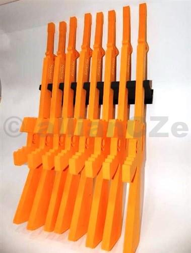 držák krátkých i dlouhých zbraní - HYSKORE Modular 8 Gun Racking System