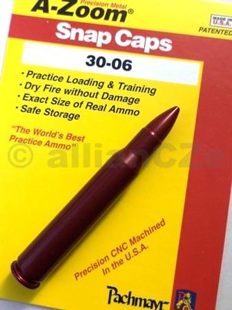 """Cvičný (školní) náboj 30-06 - A-Zoom (ITEM 12227)  .30-06 A-zoom ITEM 122271ks(www.pachmayr.com)Excelentní kovový cvičný náboj pro""""suchou"""" střelbu"""