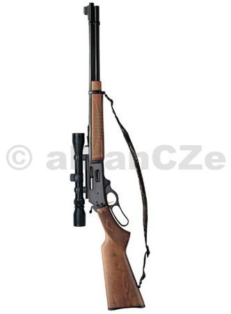 PUŠKA MARLIN 336 W .30/30 w/scope Marlin 336W+ 3-9x40 Puškohled TASCO s montáží.Marlin 336W je páková opakovačka wersternového typu