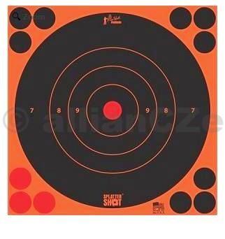 Terč - Pro-Shot Products Splatter®Shot / 5 ks - oranžový - 30x30cm Pro-Shot Products