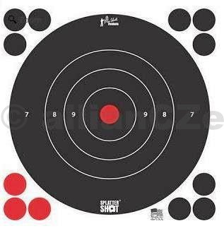 Terč - Pro-Shot Products Splatter®Shot / 5 ks - bílý - 30x30cm Pro-Shot Products