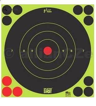 Terč - Pro-Shot Products Splatter®Shot / 6 ks - zelený - 30x30cm Pro-Shot Products