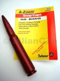 "Cvičný (školní) náboj .50 BMG - A-Zoom (ITEM 11451) .50 BMG A-zoomExcelentní kovový cvičný náboj pro""suchou"" střelbu"