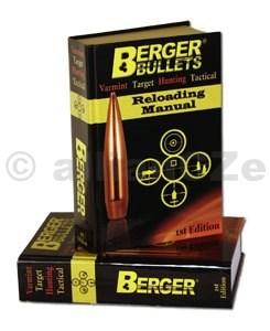 Kniha pro přebíjení střeliva - Berger Bullets Loading Manual Berger Bullets Loading ManualITEM: 50-11111Kompletní kniha o přebíjení v Angličtině - manuál nejeno přebíjení ale i o zbraních a jejich použitíod týmu Berger Bullets pro začátečníky i pokročilé.Prodej MO / VO