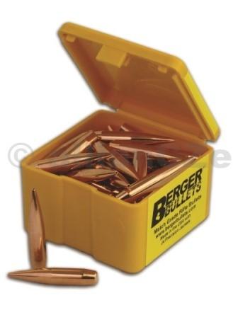 """STŘELA 6 mm .243 DIA 88gr High BC FB Varmint """"BERGER BULLETS"""" - 100ks BERGER BULLETS ITEM: 24323 špičkové střely High BC FB Varmint6mm 88gr .243 DIA100 ks balení G1 BC 0.380 G7 BC  N/A Optimal Twist Rate 1:10"""" Přímý dovoz z USA - střely které nejsou skladem objednáme."""