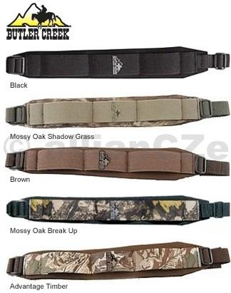 popruhy na zbraně Butler Creek - dvoubodý - více barev a druhů Buttle CreekComfort Stretch Firearm Slingskvalitní řemeny na pušky s polstrováním