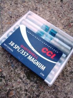 38 SPECIAL/357 MAGNUM CCI SHOTSHELL - 10 ks CCI38 SPECIAL/357 MAGNUM SHOTSHELLkompletní brokové náboje pro krátké zbraně38 SP a 357 MAG