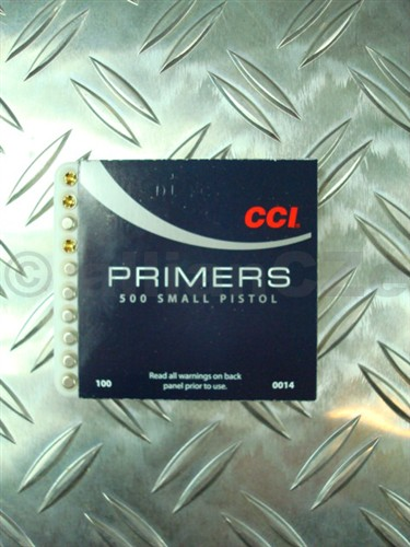ZÁPALKY CCI - SMALL RIFLE MAGNUM No 450 ZÁPALKY CCI - MALÉ PUŠKY; MAGNUM - SMALL RIFLE MAGNUM - No 450