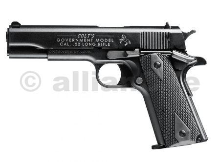 Pistole Colt 1911 A1 .22LR - model Government Samonabíjecí Long Rifle Pistole Colt 1911 A1 - Governmentv ráži .22LRs odlehčeným závěrem pro střelbu nízko-laborovanou municí1x zásobník na 12 ran