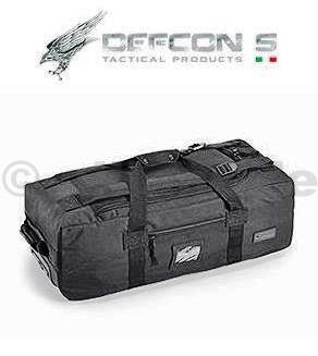TAŠKA DEFCON5 - TROLLEY TRAVEL BAG - black DEFCON5 TROLLEY TRAVEL BAG - černýBlack  D5-XY003 BCestovní taška se dvěma koly a výsuvným dvoupolohovým kovovýmdržákem nejen pro přepravu taktického vybavení. Jedná se o vak se zadní konstrukcí a pevným dbnem