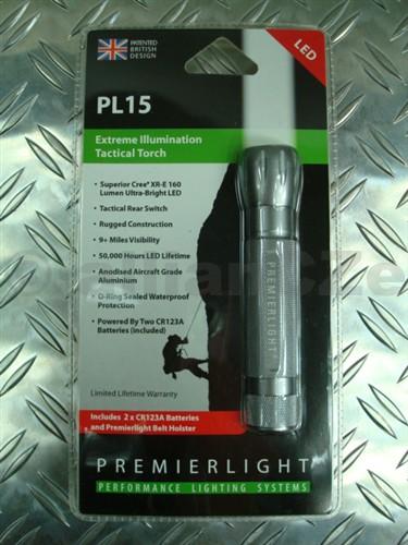 svítilna PREMIERLIGHT PL15 PL15 v barvě kovu