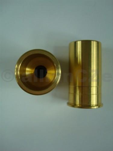 Cvičné mosazné náboje pro 12 GA Pro-Shot Snap Caps - 2ks Výprodej zboží - sleva platí pro všechny - další sleva pro VO není možná.Pouze do vyprodání zásob.PROSHOT PRODUCTS - USAJAKOSTNÍ ODPALOVACÍ MOSAZNÁ VÍČKA- cvičné nábojePRO BROKOVÉ ZBRANĚ RÁŽE 12 GAPro-Shot SNAP CAPS - MADE IN USAbalení obsahuje dvě víčka. Vinikající pro poloautomatické kulovnice ráže 12GAs hlavněmi pod sebou a vedle sebe.