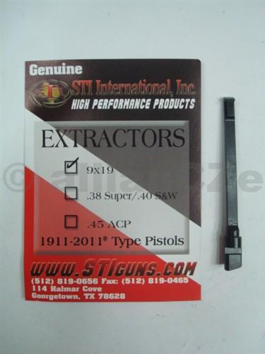 vytahovač - STI EXTRAKTOR 9x19 / 1911 - 2011 STI EXTRACTORS 9mm (9x19)Vysoce kvalitní vytahovač / extraktormateriál - ocel série 70 pro 9mm pistole vzor 1911 a 2011.