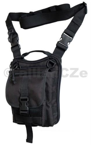TAŠKA FALCO Typ 519 MK3 - BLACK - černá Taška na rameno pro skryté nošení zbraněFALCO Typ 519 MK3 - BLACK - černáPro skryté nošení zbraně s trhacím systémem zipů