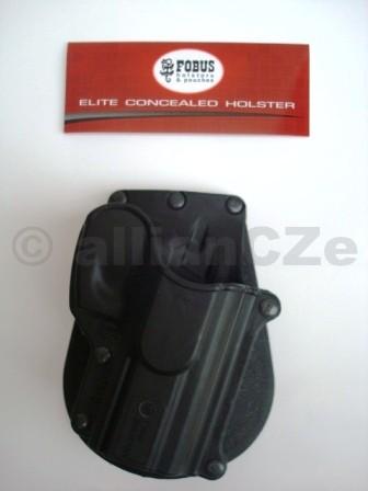"""POUZDRO opaskové FOBUS CZ-75D COMPACT PADDLE FOBUS 75D COMPACT PADDLEKvalitní plastové pouzdro """"s pádlem"""" za opasek pro pistole ČZ 75.Odkaz na výrobce: http://www.fobusholster.com/"""