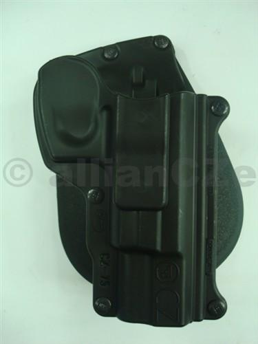 """POUZDRO opaskové FOBUS CZ-75 PADDLE HOLSTER Kvalitní plastové pouzdro """"s pádlem"""" za opasek pro pistole ČZ 75.Odkaz na výrobce: http://www.fobusholster.com/"""