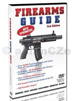 FIREARMS GUIDE 2nd Edition new for 2011 - DVD DVD FIREARMS GUIDE 2nd EditionITEM: 13741Originální DVD se schématy více než 1550 druhůzbraní od 130 výrobců z USA a EVROPY obsahuje dále:FFL lokátor