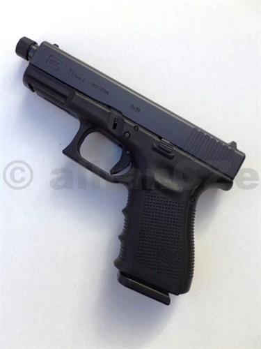 Pistole GLOCK 19 Gen4 9mm PARA BLACK se závitem Glock 19 Gen49mm (9x19)provedení s hlavňovým závitem M13