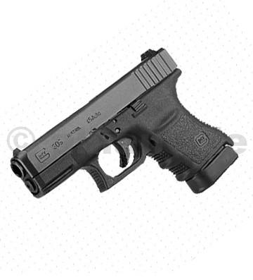 Pistole GLOCK 30 S .45 ACP Glock 30 S .45 ACPPolymerní pistole Glock v řadě Subcompact jsou svou velikostí určeny pro skryté nošení a sebeobranu.Model Glock 30 S je odvozený od modelu Glock 30 SF. Oproti G30 SF má pouze zúžený závěr