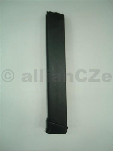 ZÁSOBNÍK pro GLOCK 9mm - 33ran extra dlouhý originální zásobník GLOCK pro 9mm (G17/G19 ad)na 33ran.