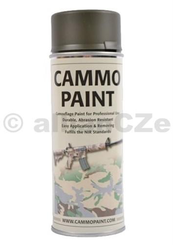 Barva maskovací - CAMMO PAINT by GLOMEX 400ml spray - ZELENÁ OLIV AMMO PAINT Zelená - olive green400ml sprayBarvy CAMMO PAINT jsou určeny jak k profesionálnímu využití v armádě