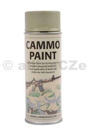 Barva maskovací - CAMMO PAINT by GLOMEX 400ml spray - ŠEDÁ CAMMO PAINT GREY - ŠEDÁ400ml sprayBarvy CAMMO PAINT jsou určeny jak k profesionálnímu využití v armádě