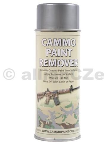 Odstraňovač barev - CAMMO PAINT by GLOMEX 400ml spray CAMMO PAINT REMOVERODSTRAŇOVAČ BAREV400ml sprayBarvy CAMMO PAINT jsou určeny jak k profesionálnímu využití v armádě
