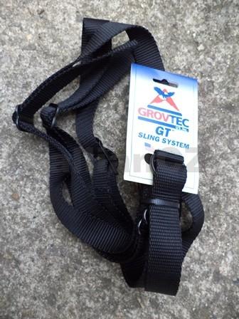 popruh na zbraň GROVTEC Nylon Web Backpack Sling with Swivels Řemen na pušku GROVTEC Nylon Web Backpack Sling with SwivelsITEM: GTSL-25Hands-free - nylonový popruh pro dlouhé zbraně