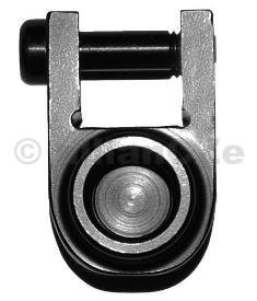 Adaptér PUSH BUTTON pro montáž na Bayonet Lug zbraní AR15 - GROVTEC GTSW-276 GROVTEC GTSW-276Bayonet Lug Quick Detach Sling Swivel Adapter AR-15 Aluminum BlackPrecizní hliníková montáž pro připojení příslušenstvís PUSH BUTTON (poutka na řemeny/popruhy ad)
