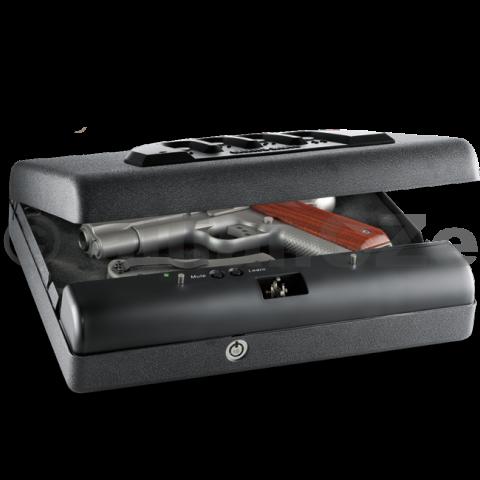 bezpečnostní schránka GunVault MicroVault - MV 500 GunVault MicroVault - MV 500 Bezpečnostní schránka vnějších rozměrů 28 x 21 cm