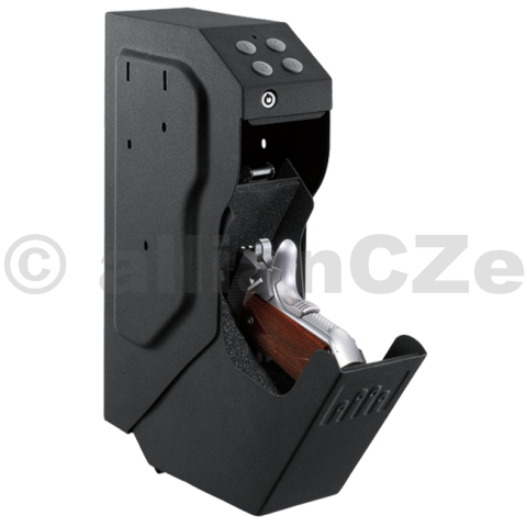 bezpečnostní schránka GunVault SpeedVault - SV 500 GunVault SpeedVault - SV 500 model s digitální klávesnicíMějte svoji zbraň uloženu bezpečně a přitom zároveň po ruce