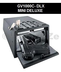 bezpečnostní schránka GunVault MINI 1000 DELUXE Bezpečnostní ocelová schránka GunVault v provedení s vnitřním osvětlením (DELUXE) GV1000C-DLX v USA velmi oblíbený model bezpečného úložiště