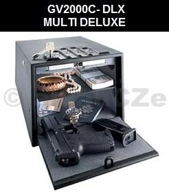 bezpečnostní schránka GunVault MULTI 2000C DELUXE Bezpečnostní ocelová schránka GunVaultMULTI GV2000C-DELUXE v USA velmi oblíbený model bezpečného úložiště