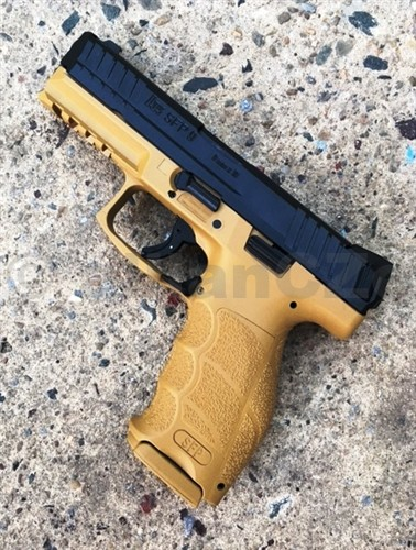 Pistole Heckler & Koch HK SFP9 SF 9mm x 19  Pistole samonabíjecí ITEM: HK226393 Heckler & Koch V9/SFP9 SF 9mm barevné provedení SF  RÁŽE: 9 mm x 19 délka: 186