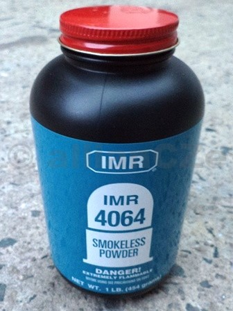 STŘELNÝ PRACH IMR 4064® - 454g / 1LB IMR 4064 střelný prach pro přebíjení puškového střeliva .223 Remington