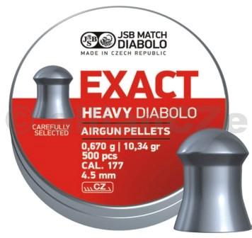 DIABOLKY JSB EXACT HEAVY 4