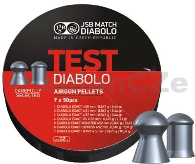 DIABOLKY JSB EXACT TEST 4