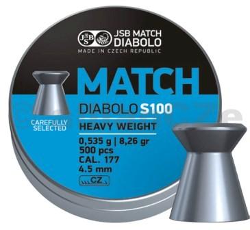 DIABOLKY JSB MATCH S100 4