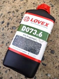 STŘELNÝ PRACH LOVEX® D073.6 střelný prach LOVEX D073