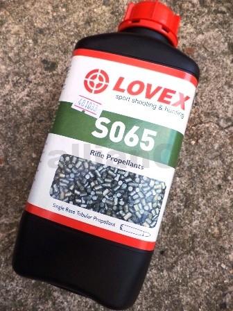 STŘELNÝ PRACH LOVEX® S065 střelný prach LOVEX S 065bezdýmý jednosložkový prach puškový